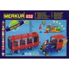MERKUR - Stavebnice Železniční modely M032