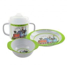 MORAVSKÁ ÚSTŘEDNA - Sada nádobí 3 dílná - Krtek mašinka