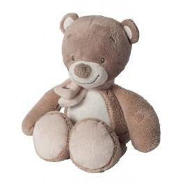 Nattou - Hračka plyšová hrkací medvídek Tom 18 cm