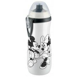 Láhev Sports Cup, Disney - Mickey 450 ml, SI push-pull pítko, bílá