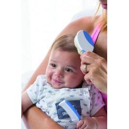 Sada kartáčů na vlasy pro miminka - modrá