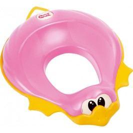 OK BABY - Redukce na WC Ducka růžová