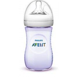 PHILIPS AVENT - Láhev Natural 260 ml fialová, 1 ks