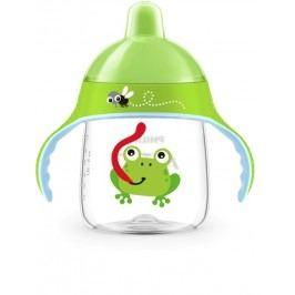 PHILIPS AVENT - Hrneček pro první doušky Premium 260 ml žába