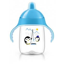PHILIPS AVENT - Hrneček pro první doušky Premium 340 ml modrý