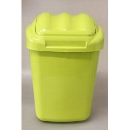 PLAFOR - Plastový odpadkový koš Fala 30 l - zelený