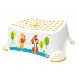 Schůdek na WC / umyvadlo Winnie Pooh - bílý
