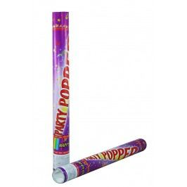 RAPPA - Barevné papírové konfety v tubě vystřelovací