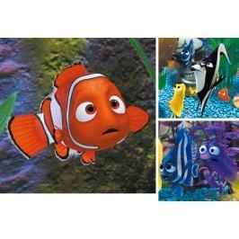 RAVENSBURGER - Disney Nemo v akváriu 3x49 dílků