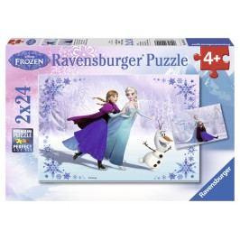 RAVENSBURGER - Ledové Království 2 X 24D