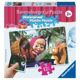 RAVENSBURGER - Máša a Medvěd 12 plast. dílků I