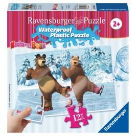 RAVENSBURGER - Máša a Medvěd 12 plast. dílků III