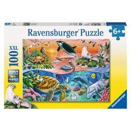 RAVENSBURGER - Pestrý oceán, 100 dílků