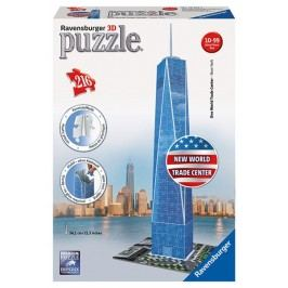 RAVENSBURGER - Puzzle 3D Ravensburger Trade Center 216