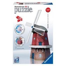 RAVENSBURGER - Puzzle 3D Ravensburger Větrný mlýn 216