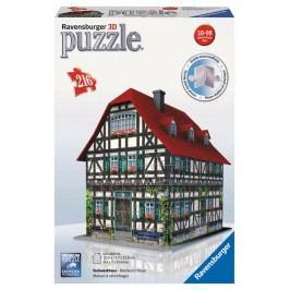 RAVENSBURGER - Středověký Dům 3D 216D
