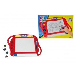 SIMBA - Art & Fun magická magnetická tabulka, červená