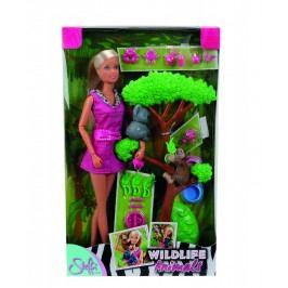 SIMBA - Panenka Steffi se zvířátky Z Džungle