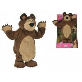 SIMBA - Máša a medvěd Plyšový tančíčí medvěd 35 cm