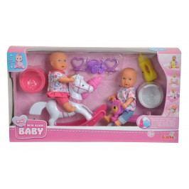 SIMBA - New Born Baby Hrací set 2 panenky