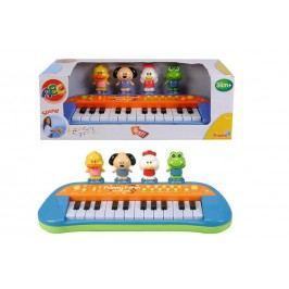 SIMBA - Piano S Veselými postavičkami, 34 Cm