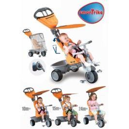 SMART TRIKE - Recliner kočárek - oranžový
