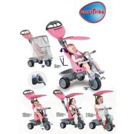 SMART TRIKE - Recliner kočárek - růžový