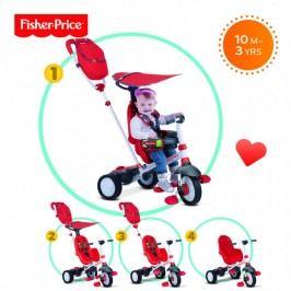 SMART-TRIKE - tříkolka Fisher Price 320 Charisma 4v1 Červená