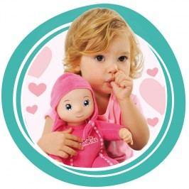 SMOBY - 210103 panenka Minikiss se zvukem růžová nebo modrá