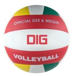 SPOKEY - DIG II Volejbalový míč bílo - červená velikost 5