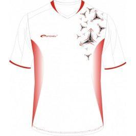 SPOKEY - Fotbalové tričko biele_vzor vel. XXL