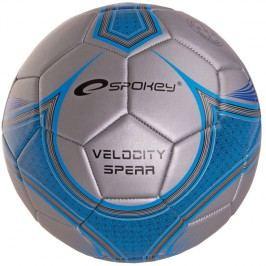 SPOKEY - VELOCITY SPEAR - Fotbalový míč stříbrno-modrý č.5