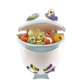 Box na hračky do koupelny Bubble Fish - zelená