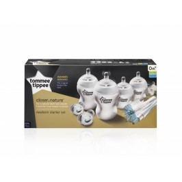 TOMMEE TIPPEE - Sada kojeneckých lahviček C2N s kartáčem