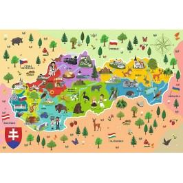TREFL - Edukační Puzzle Mapa Slovenska 44