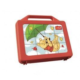 TREFL - Medvídek Pů Puzzle kostky