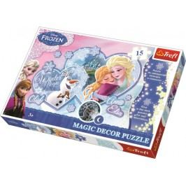 TREFL - Magic Decor Fosfor puzzle Frozen