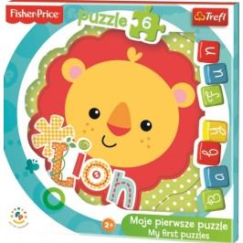 TREFL - Moje první puzzle Fisher Price Lvíček 6