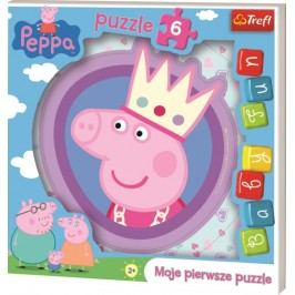 TREFL - Moje první puzzle Peppa 6