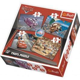 TREFL - Puzzle Cars 4v1