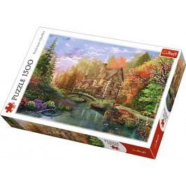 TREFL - Puzzle Chata u jezera 1500