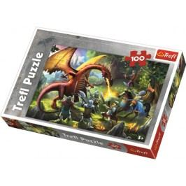 TREFL - Puzzle Drak 100 dílů