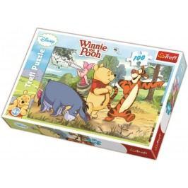 TREFL - Puzzle Medvídek Pů II 100 dílů