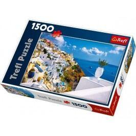 TREFL - Puzzle Santorini - Řecko.
