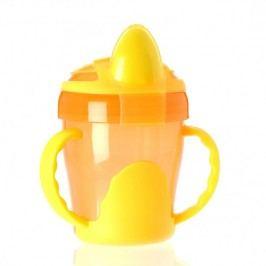 VITAL BABY - Dětský výukový hrníček 200 ml, oranžový