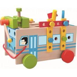 WOODY - 91179 Montážní autobus s nářadím