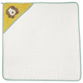 BABY FEHN - Funky ručník s kapucí lev