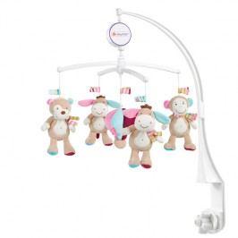 BABY FEHN - Monkey Donkey hrací kolotoč oslík