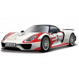 BBURAGO -  Porsche 918 Weissach 1:24 Race