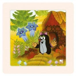 BINO - 15001 Puzzle Paní Krtečkova 4 dílky